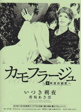 「カモフラージュ~十年目の初恋~」購入者特典書き下ろしペーパー