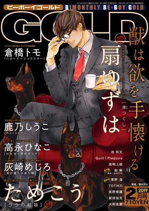 BE・BOY GOLD 2019年2月号(雑誌著者等複数)