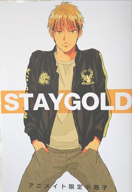 「STAYGOLD (4)」アニメイト限定16P小冊子