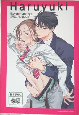 「Haruyuki Elevator Strategy SPECIAL BOOK」onBLUE8周年記念小冊子